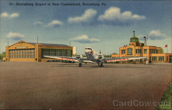 Harrisburg Airport at New Cumberland Pennsylvania Airports