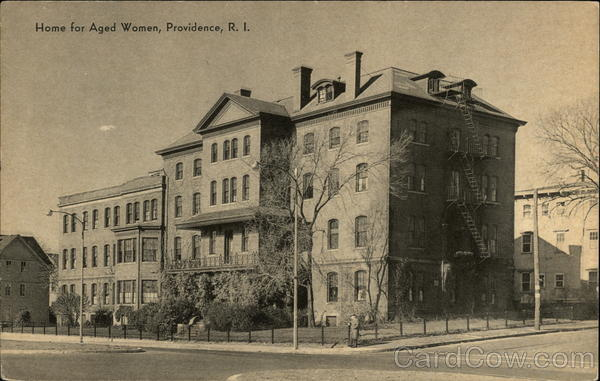 Home for Aged Women Providence Rhode Island