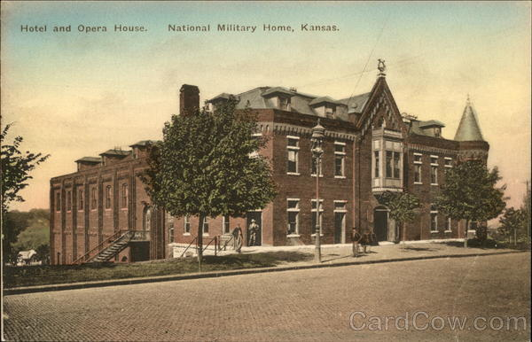 Hotel and Opera House, National Military Home Leavenworth Kansas