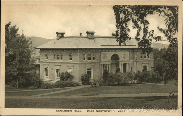 Kenarden Hall East Northfield Massachusetts