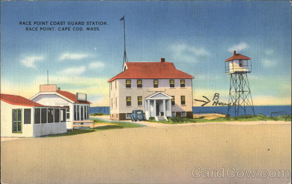 Race Point Cost Guard Station Cape Cod Massachusetts