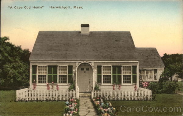 A Cape Cod Home Harwich Port Massachusetts