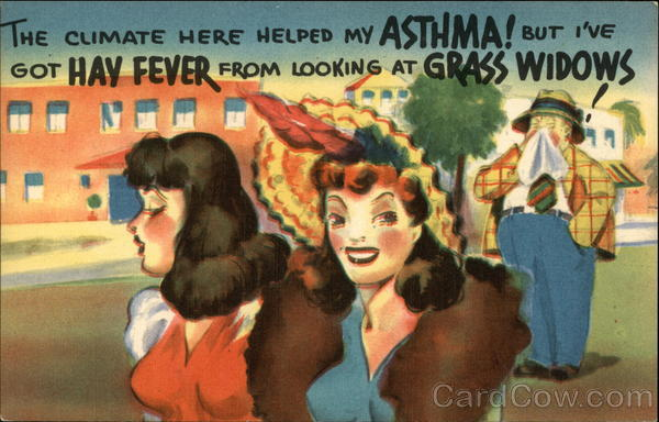 The Climate Here Helped my Asthma! Comic, Funny