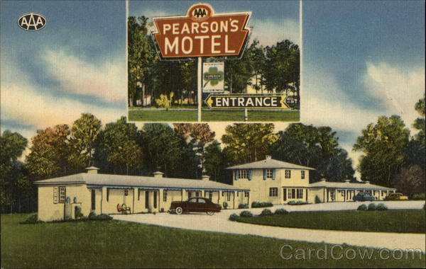 Pearson's Motel and Coffee Shop Ocala Florida