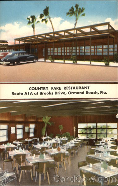 Country Fare Restaurant Ormond Beach Florida