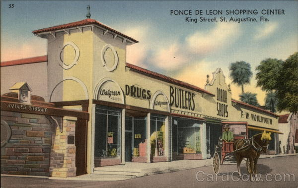 Ponce de Leon Shopping Center St. Augustine Florida