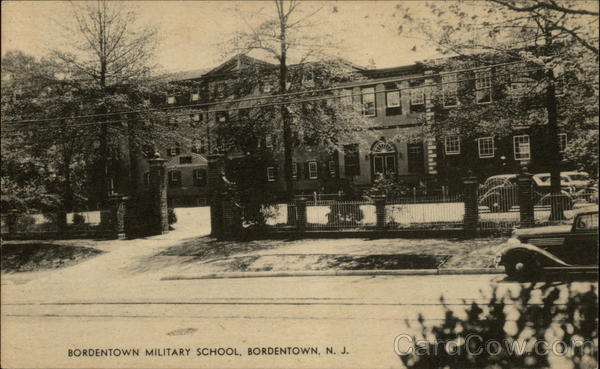 Bordentown Military School New Jersey