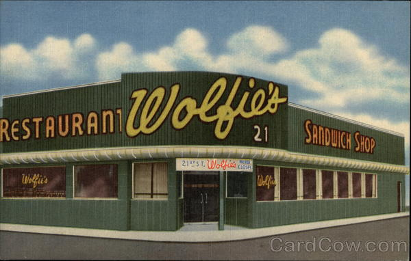 Wolfie S Restaurant And Sandwich Shop Miami Beach Fl