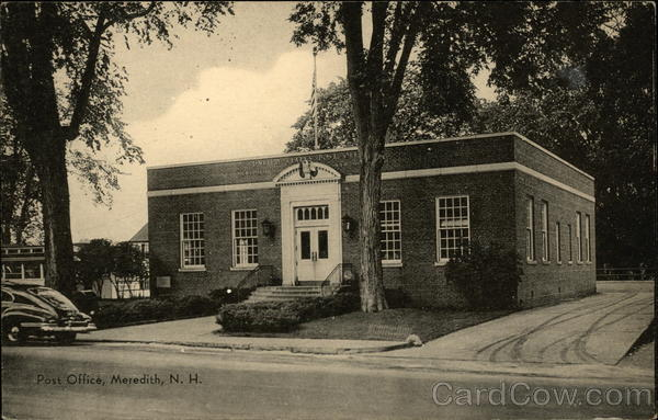 Street View of Post Office Meredith New Hampshire