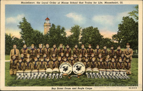 Boy Scout Drum and Bugle Corps Mooseheart Illinois