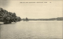 View on Lake Cochituate