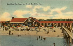 East Chop Club House and Beach