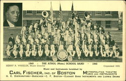 The Athol School Band 1940