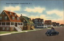 Street View of Ocean Front Cottages