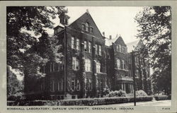 Minshall Laboratory at DePauw University