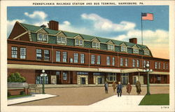Pennsylvania Railroad Station and Bus Terminal