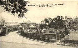 Entrance to St Francis Health Resort