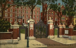 """Van Wickle"" Gates of Brown University"