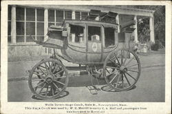 White Tavern Stage Coach