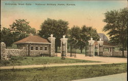 Entrance, West Gate, National Military Home