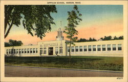 Street view of Sippican School