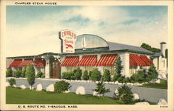 Charles Steak House Postcard