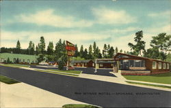 Wynne Motel Postcard