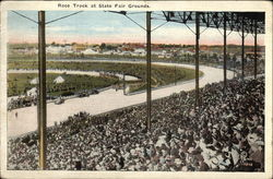 Race Track at State Fair Grounds