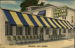 Evelyn's Sea Food Postcard