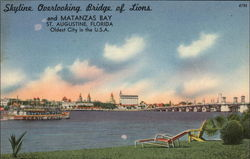 Skyline Overlooking Bridge of Lions and Matanzas Bay