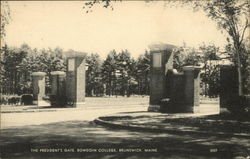 Bowdoin College - The President's Gate