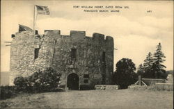 Fort William Henry, Dates from 1692