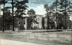 Men's Dormitory at the Henderson State Teachers College