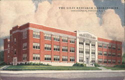The Lilly Research Laboratories Postcard