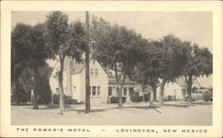 The Power's Motel Postcard