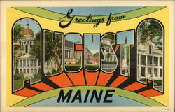 Greetings from Augusta, Maine