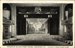 Interior of the Dock Street Theatre
