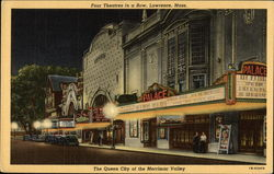 Four Theatres in a Row at The Queen City of the Merrimac Valley