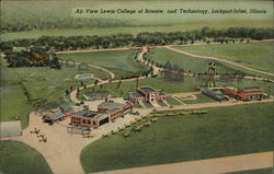 Lewis College of Science and Technology, Lockport-Joliet Postcard