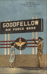 Entrance Sign - Goodfellow Air Force Base