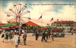 "The ""Fun Deck"" Plymouth Place and Boardwalk"