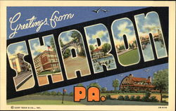 Greetings from Sharon, PA