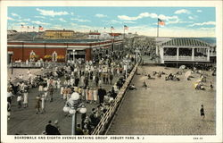 Boardwalk and Eighth Avenue Bathing Group