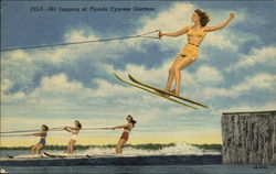 CG2 - Ski jumping at Florida Cypress Gardens
