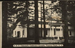 N.E.F. Tabernacle, Conference Grounds Postcard