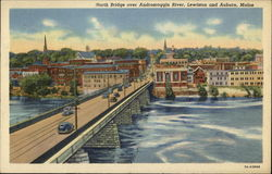 North Bridge over Androscoggin River