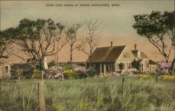 Cape Cod Home at Truro Highlands, Mass