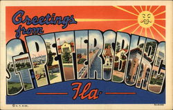 Greetings from St Petersburg, Florida