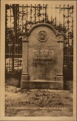 Colonel Theodore Roosevelt Grave