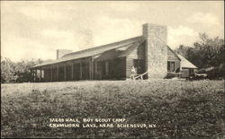Mess Hall, Boy Scout Camp, Crumhorn Lake